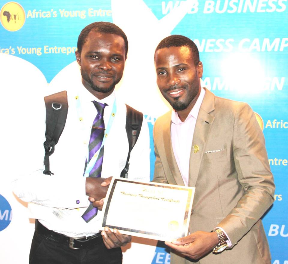 AYEEN 2015 Business Certificate Recognition (1)
