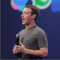 Facebook CEO Mark Zuckerberg speaks at the F8 summit in San Francisco, California on 25 March 2015. Zuckerberg introduced the Messenger platform at the event. On Tuesday, 11 July 2017, Facebook announced that Messenger would soon be hosting ads on its home screen |